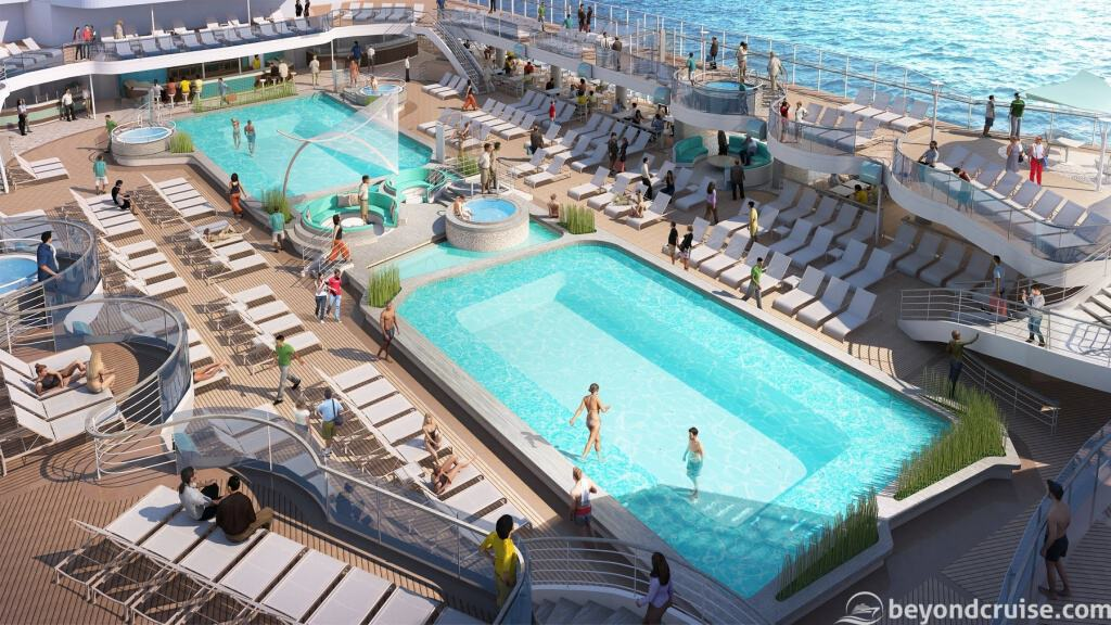 Main Pool Deck, Sky Princess