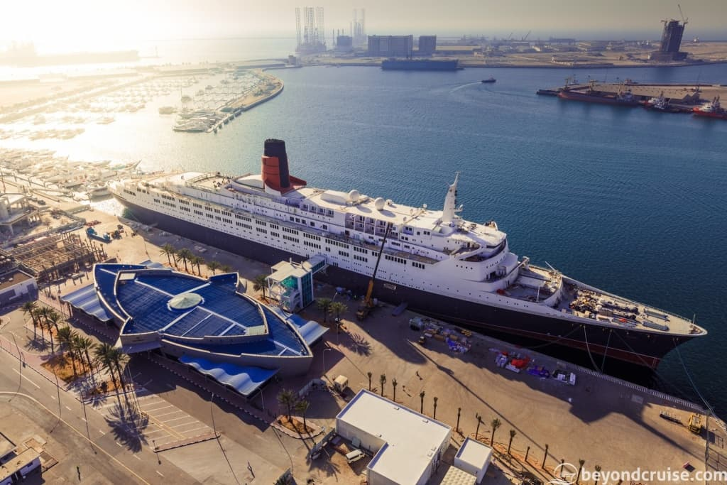 QE2 from above