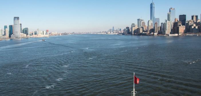 Queen Elizabeth on her Cunard World Voyage 2017