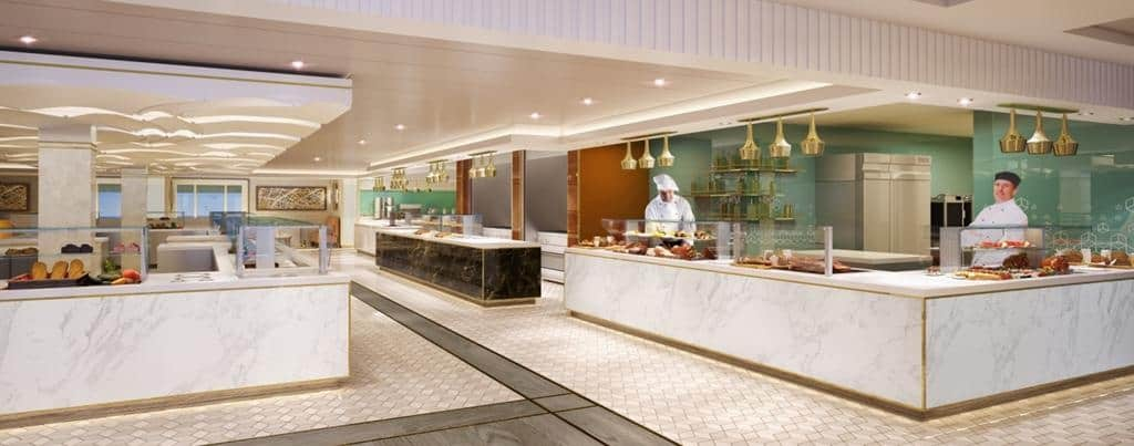 Queen Mary 2 Remastered: Kings Court servery